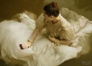 Ophelia Surreal Artwork by Photographer Dikla Laor