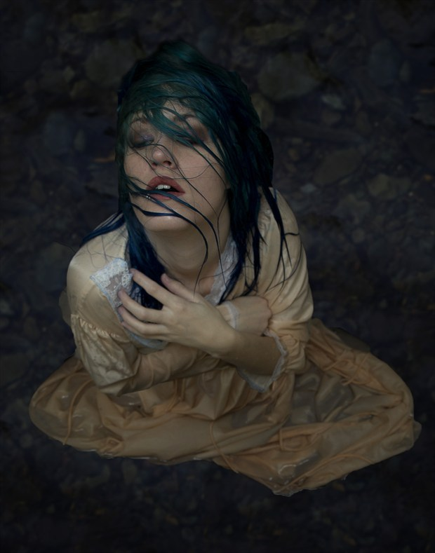 Ophelia Surreal Photo by Photographer Vander Warf Photography