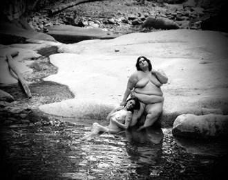 Opposites Artistic Nude Artwork by Model Isabelvinson