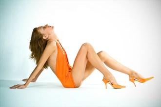 Orange Samantha Glamour Photo by Photographer Carden Photo