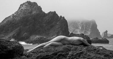 Oregon Coast Figure Study Photo by Photographer Eric Lowenberg