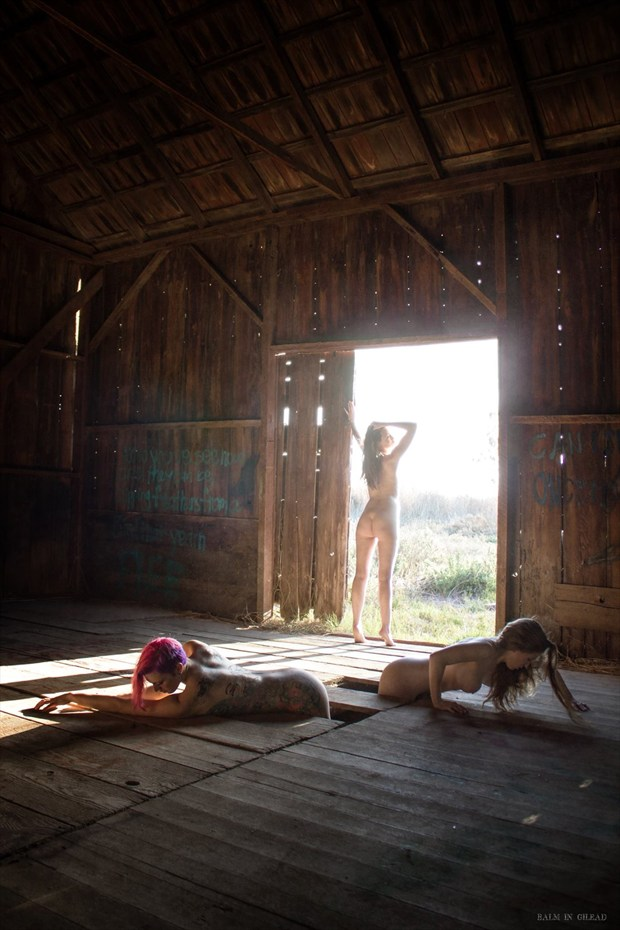 Out of the Woodwork Artistic Nude Photo by Model Ember No%C3%ABlle