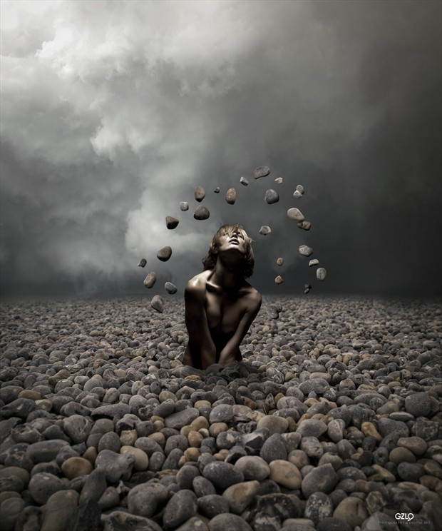PEBBLES Fantasy Photo by Artist GonZaLo Villar