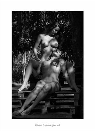 PIET%C3%81 GOIANA Artistic Nude Artwork by Artist VILDNEI ANDRADE