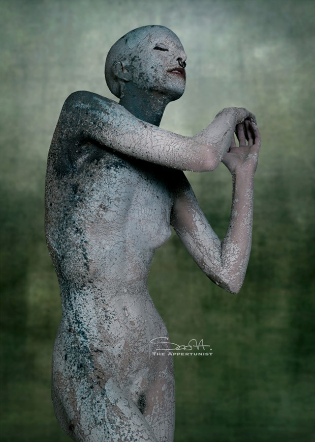 Paint & Clay Artistic Nude Photo by Photographer The Appertunist