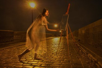 Painting the story of your soul Artistic Nude Photo by Model Florence