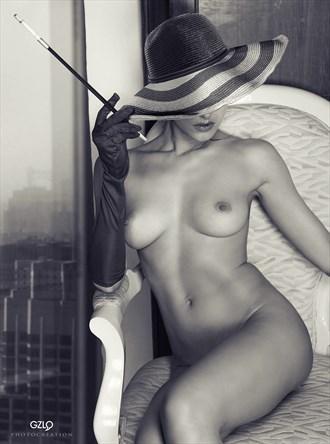 Pamela Artistic Nude Artwork by Artist GonZaLo Villar