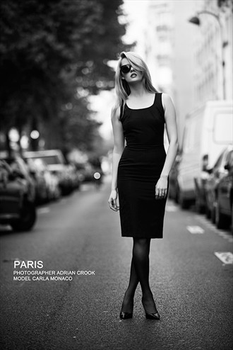 Paris Fashion Photo by Model Carla Monaco