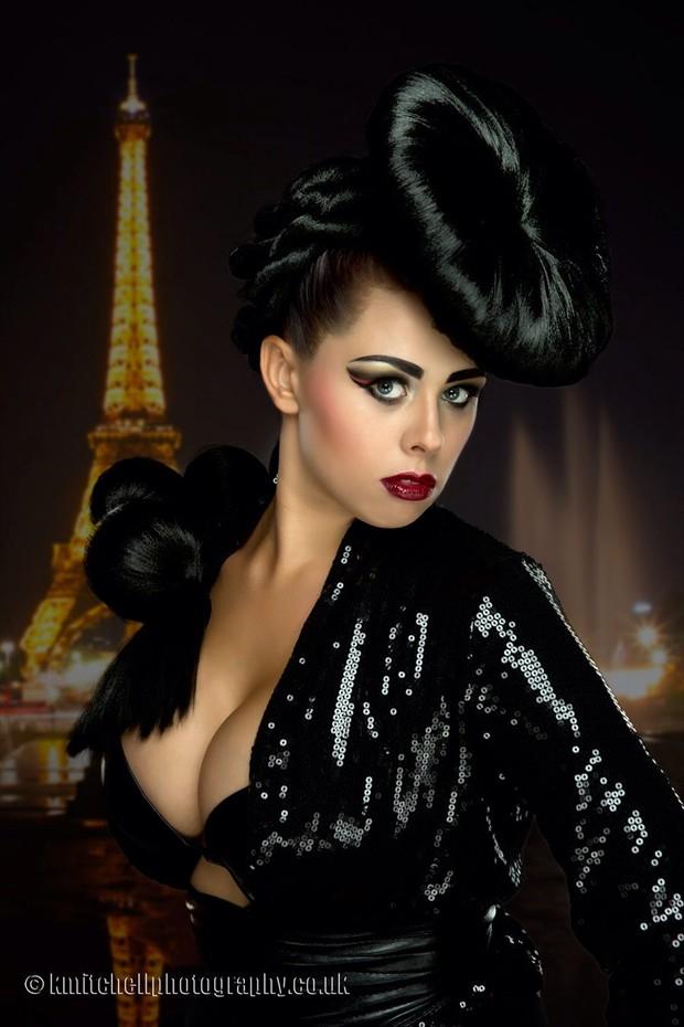 Parisian Sensual Photo by Photographer Keith Mitchell