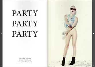 Party Party Party for PLUZULTRA Mag Erotic Photo by Photographer adamrobertsonphoto