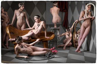 Party of One Artistic Nude Photo by Photographer Thomas Sauerwein
