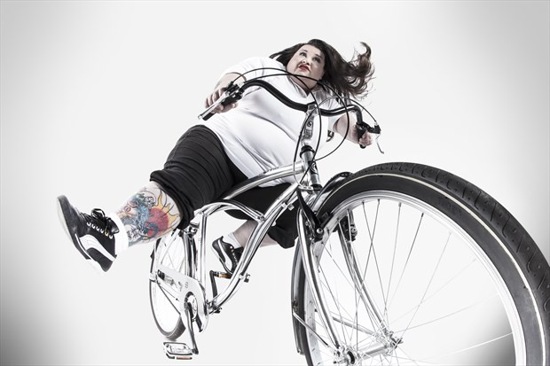 Passeggiando in bicicletta Tattoos Photo by Model Assilem Ozzehg