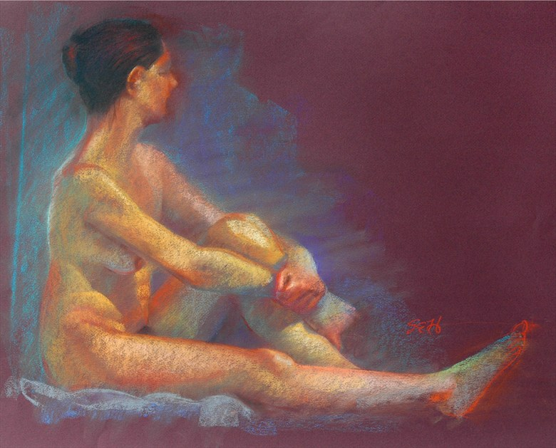 Pastel %232 Painting or Drawing Artwork by Artist FrontStreetFigureDrawing
