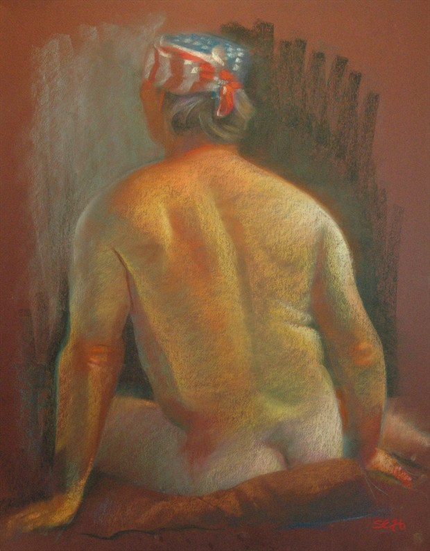 Pastel %233 Painting or Drawing Artwork by Artist FrontStreetFigureDrawing