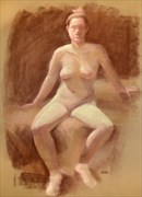 Pastel %234 Painting or Drawing Artwork by Artist FrontStreetFigureDrawing