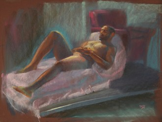Pastel %235 Painting or Drawing Artwork by Artist FrontStreetFigureDrawing