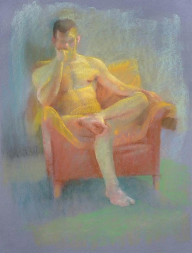 Pastel %236 Painting or Drawing Artwork by Artist FrontStreetFigureDrawing
