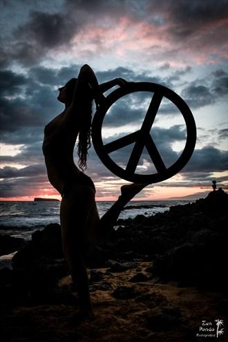 Peace Artistic Nude Photo by Photographer Zen Panda