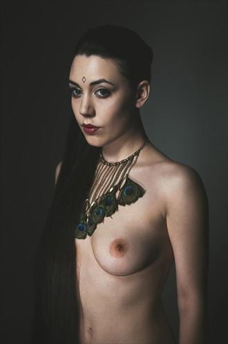 Peacock Artistic Nude Photo by Model Gestalta