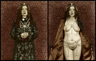 Pearl Queen Artistic Nude Artwork by Photographer Michael J Berkowitz