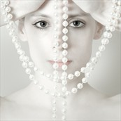 Pearls Expressive Portrait Photo by Photographer Tim Pile