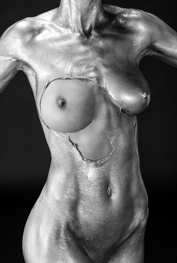 Peeling Torso Artistic Nude Photo by Photographer lancepatrickimages