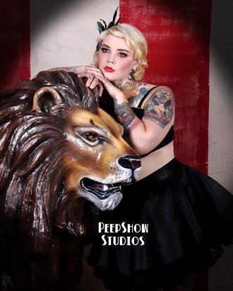 PeepShow Studios Waco, Texas  Tattoos Photo by Model Riskay Business