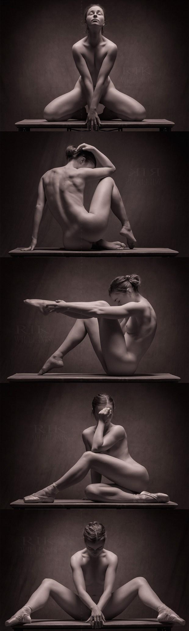 Penny my Ballerina  Artistic Nude Photo by Photographer Rik Williams