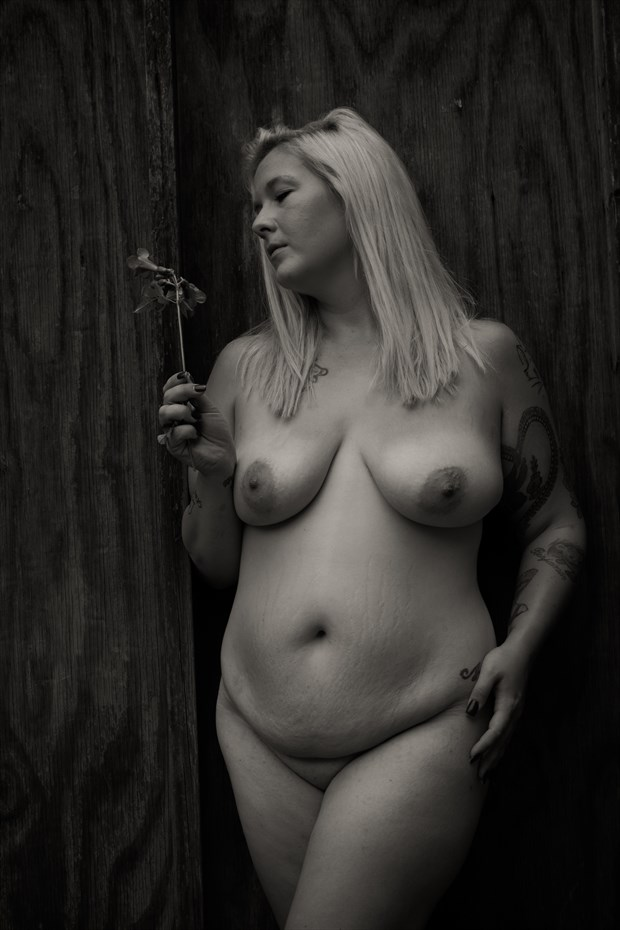 Pensive Artistic Nude Photo by Photographer Frisson Art