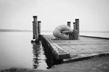 Pensiveness Artistic Nude Photo by Model Miele Rancido