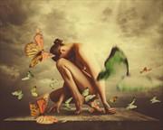 Perch Artistic Nude Photo by Photographer Jaime Ibarra