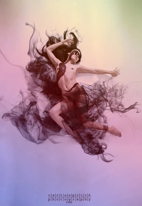 Percolate and Smoke Artistic Nude Photo by Photographer Cactusprick