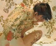 Perle D'Ore Artistic Nude Artwork by Artist Main Loop