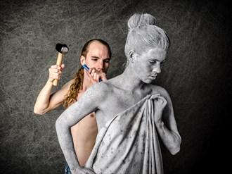 Pgymalion & Galatea Body Painting Photo by Photographer Utah Bohemian