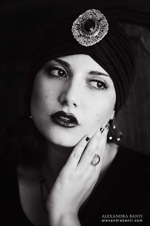 Photo : Alexandra Banti Portrait Photo by Model Ana Wanda K