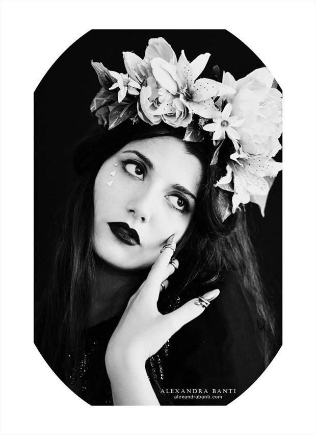 Photo : Alexandra Banti Vintage Style Artwork by Model Ana Wanda K
