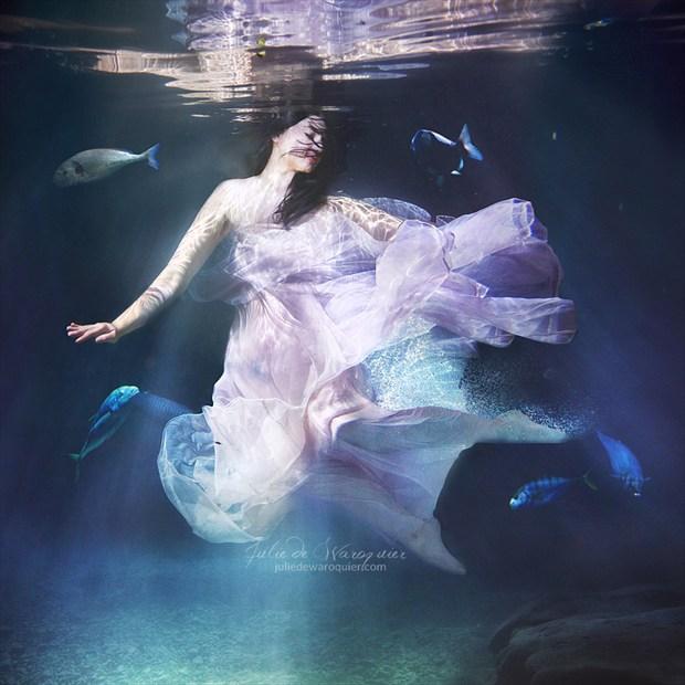 Photo : Julie de Waroquier Fantasy Artwork by Model Ana Wanda K