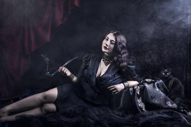 Photo : Solene Ballesta Glamour Artwork by Model Ana Wanda K