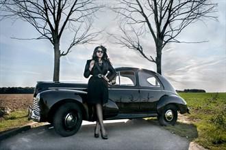 Photo : Solene Ballesta Pinup Photo by Model Ana Wanda K