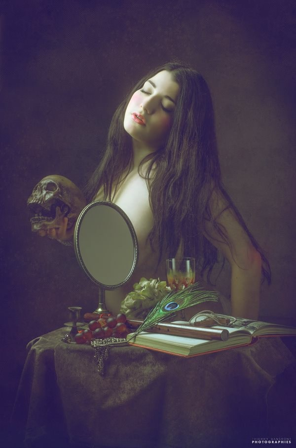 Photo : Thierry Bansront Erotic Artwork by Model Ana Wanda K