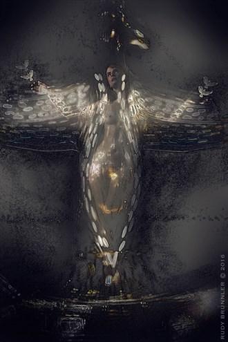 Photo Manipulation Artwork by Photographer RudyBrunnler