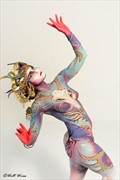 Photo by Walt Wiess Body Paint Artistic Nude Photo by Model AtenaMy