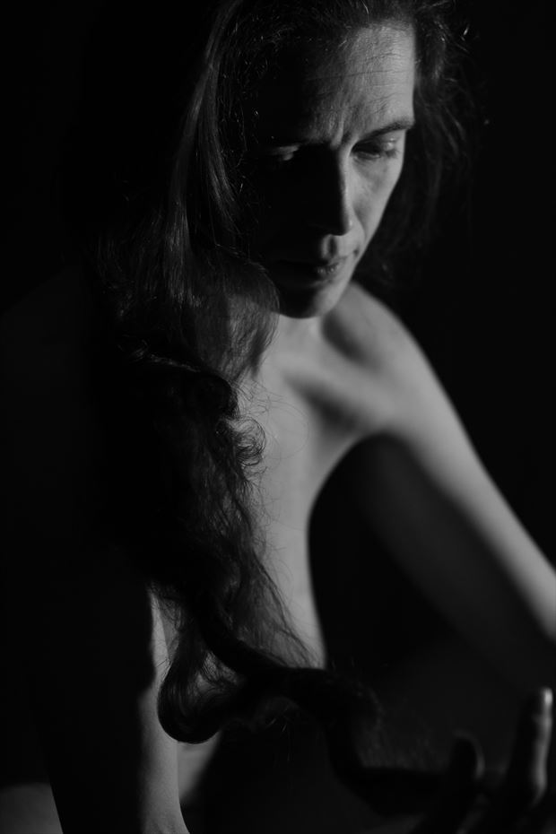 Photograph Lady Erell Eyes Sensual Photo by Artist io illy