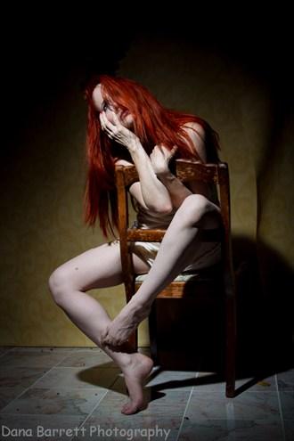 Photographer: Dana Barrett Studio Lighting Photo by Model Nina Covington