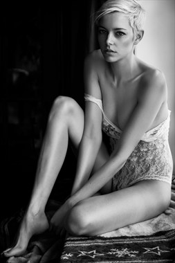 Photographer: Kirsten Thys van den Audenaerde Lingerie Photo by Model Riona Neve