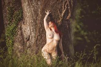 Photographer: Stephen Dillon Artistic Nude Photo by Model Nina Covington