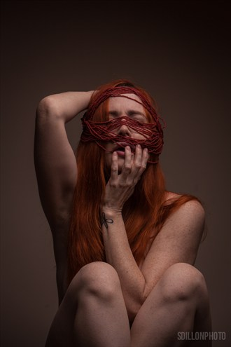 Photographer: Stephen Howard Dillon Studio Lighting Photo by Model Nina Covington