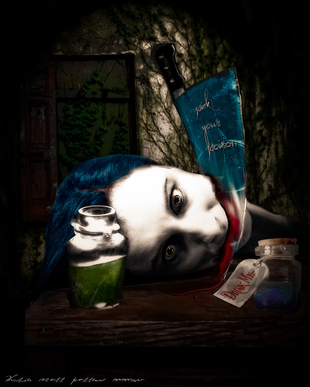 Pick Your Poison  Fantasy Artwork by Photographer Katie Potter