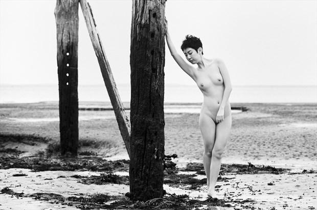 Pier Artistic Nude Photo by Photographer Sam Dickinson