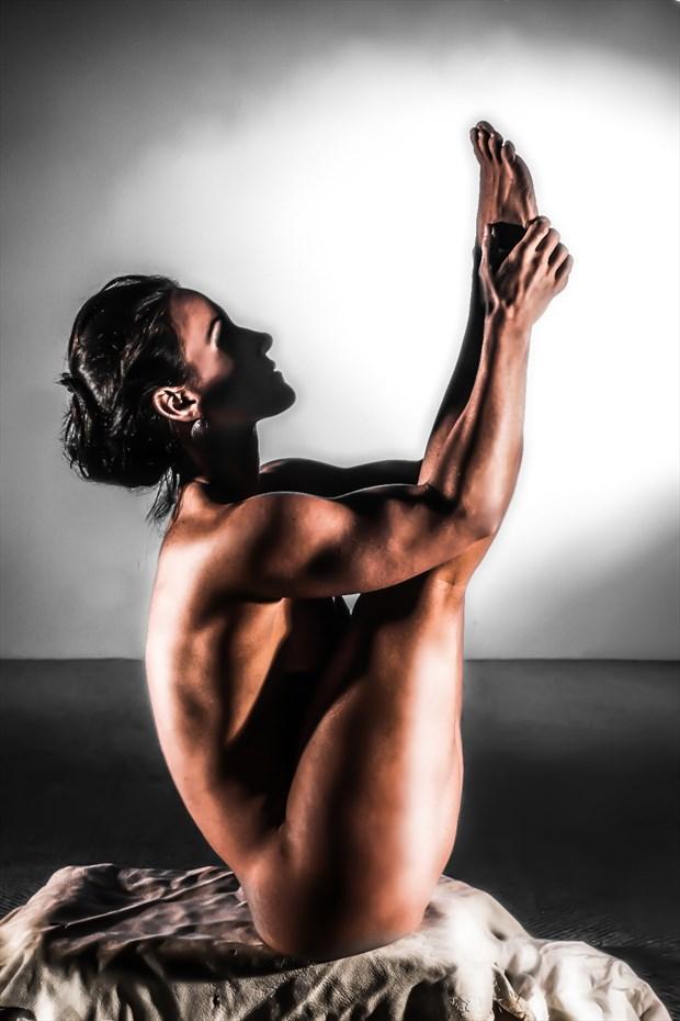Pike Artistic Nude Artwork by Model AnayaVivian